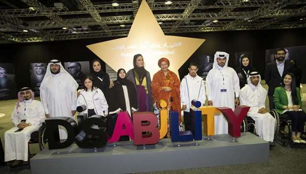 Sheikha Moza participates the opening of DICDD