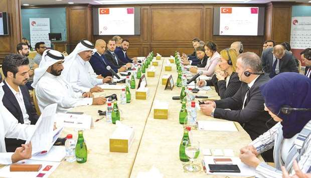 Officials from both Qatar Chamber and Istanbul Ferrous and Non-Ferrous Metals Exporters' Association