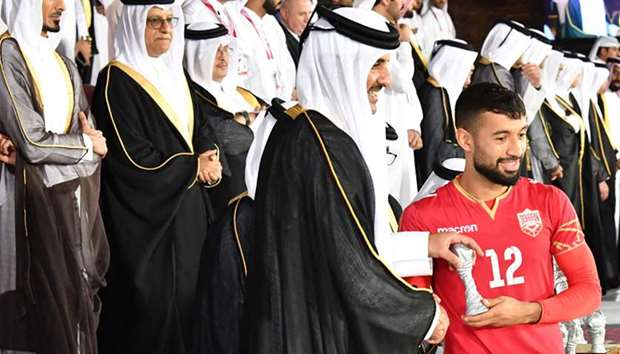 Amir crowns Gulf Cup winner