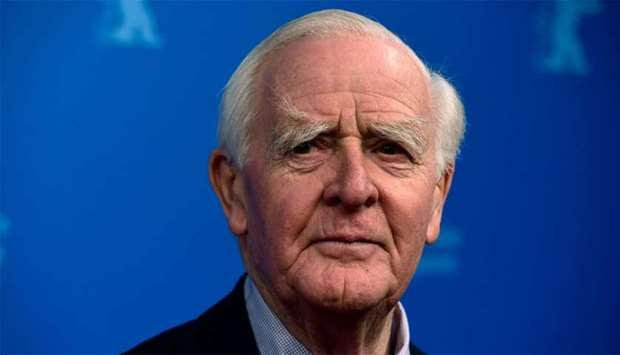 British author John le Carre (David John Moore Cornwell)