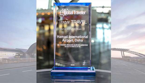 """HIA voted as the """"Best Airport in the Middle East"""" for fourth consecutive year"""