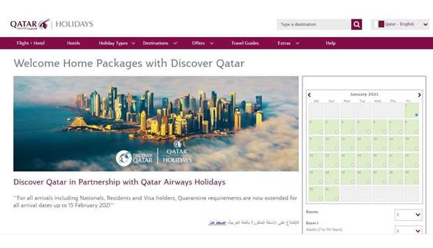 Hotel quarantine packages for people coming from countries which are not in the low-risk list have n