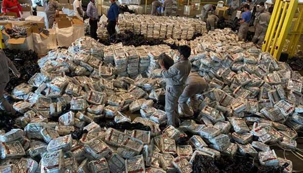 Customs foils attempt to smuggle tobacco products into the country.
