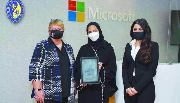 Durham School head girl becomes youngest ever intern for Microsoft Qatar