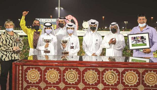 Qatar Racing and Equestrian Club's Abdulla Rashid al-Kubaisi