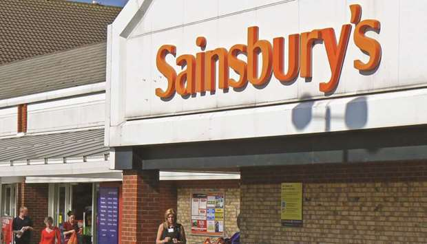 Sainsbury's said it had performed ahead of expectations, particularly since the start of the second