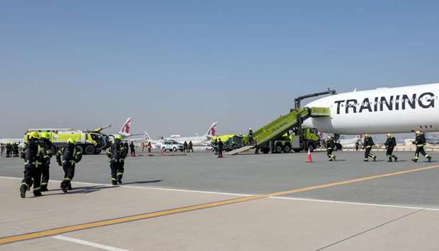 MATAR successfully completes fourth full-scale emergency exercise at Doha International Airport