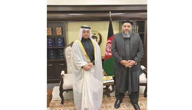 This came during the meeting of the Speaker of Afghanistan's House of Elders with Qatar's ambassador