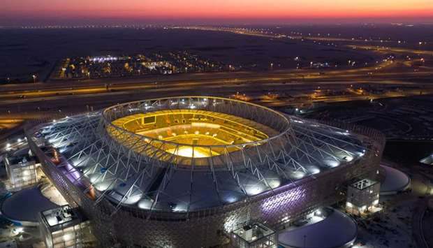 The Al Rayyan Stadium is the fourth venue to be officially completed following the renovation of the