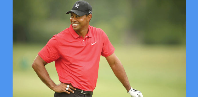 Tiger Woods last won a major tournament in 2008.