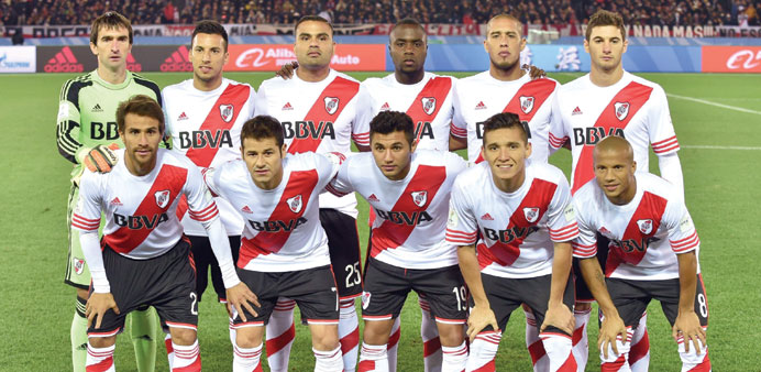 Argentina's River Plate lost to Spanish giants Barcelona in the Club World Cup final on Sunday. (AFP