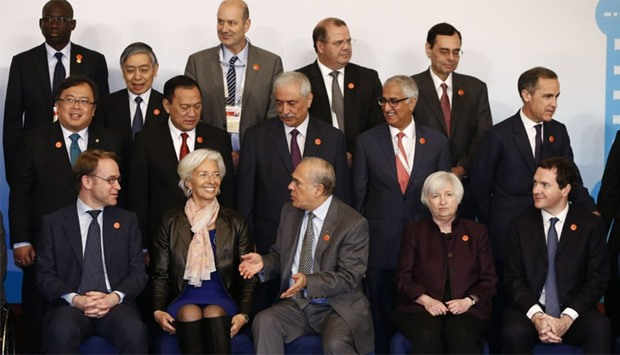 The G20 Finance Ministers and Central Bank Governors Meeting at the Pudong Shangri-la Hotel in Shang