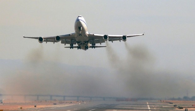 aircraft emission
