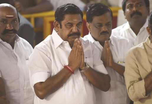 DMK to vote against new Tamil Nadu chief minister in trust vote