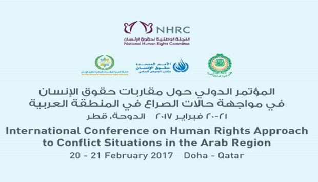 International Conference on 'Human Rights Approach to Conflict Situations in the Arab Region.'