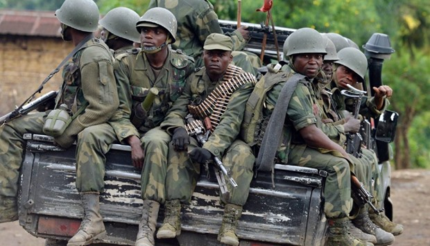 Armed Forces of the Democratic Republic of Congo (FARDC) soldiers