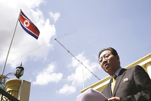 Malaysia may expel North Korean envoy over airport killing comments