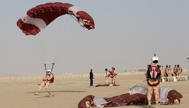 Qatar Forces training