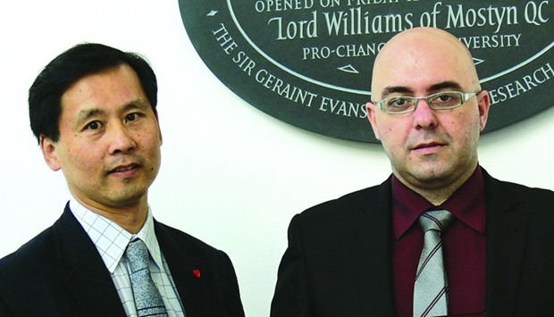 Dr Michail Nomikos and Prof F Anthony Lai