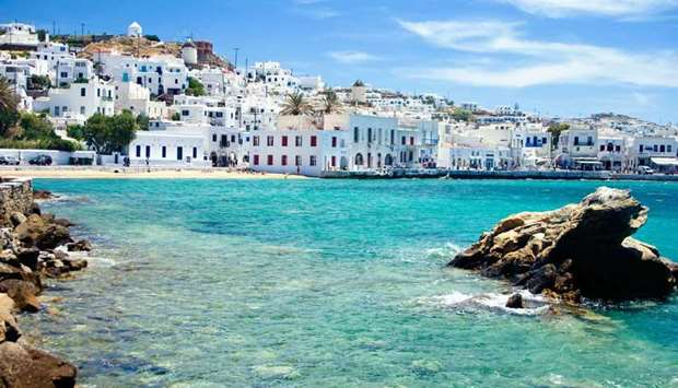 Greek Island of Mykonos