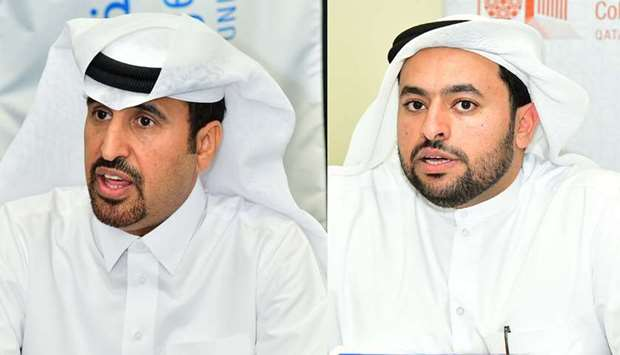 Dean of College of Engineering at Qatar University Khalifa Al-Khalifa and Dean of the College of Law