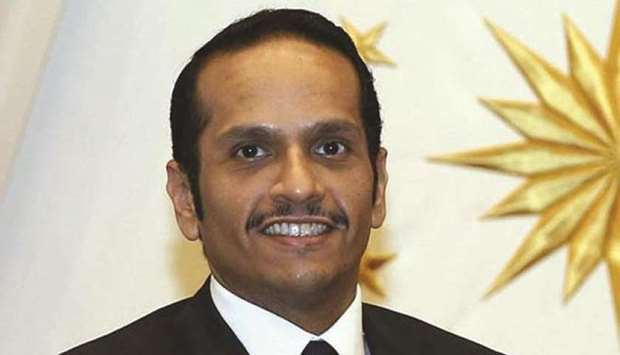 HE the Deputy Prime Minister and Foreign Minister Sheikh Mohamed bin Abdulrahman al-Thani.