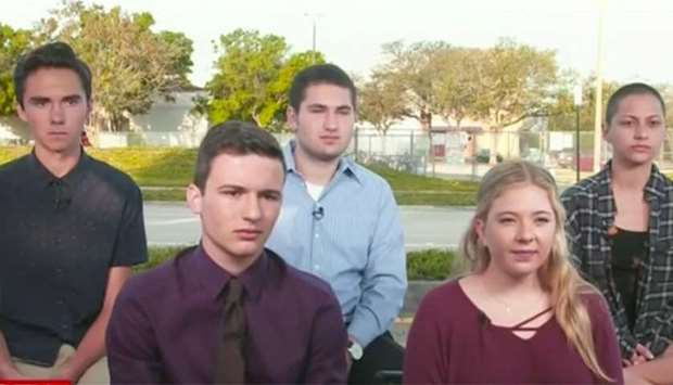 Florida shooting survivors announce 'March for Our Lives'