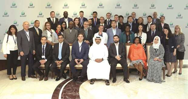 Georgetown University's Gemba students and faculty visit QP
