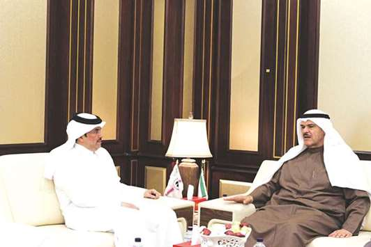 Qatar and Kuwait discuss co-operation in air transport
