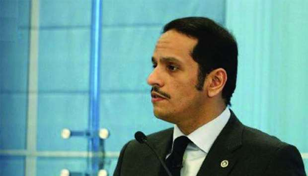 Qatar hopes GCC can be rebuilt, says FM