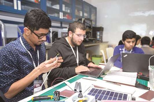 Texas A&M at Qatar camp spurs innovation by pupils