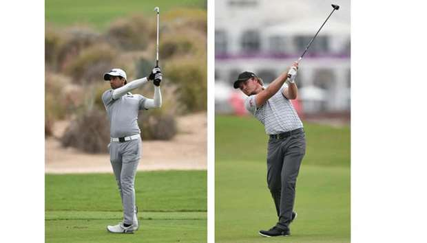 Stephen Gallacher, Eddie Pepperell one off the lead at Qatar Masters