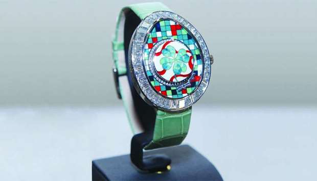 Faberge created an exclusive watch for Alfardan Jewellery. PICTURES: Shemeer Rasheed