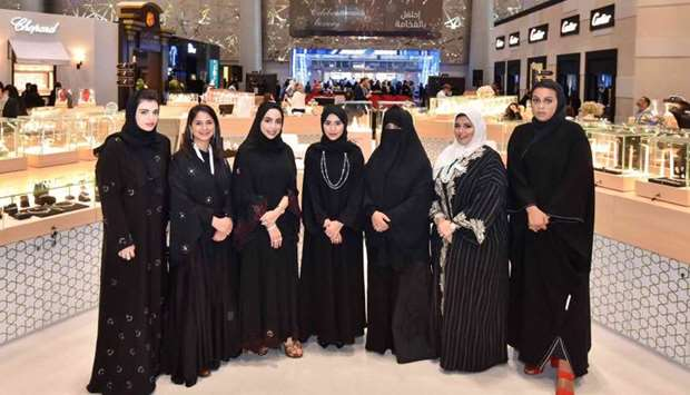 Young Qatari designers took the centre stage at DJWE 2018 which concluded Monday.