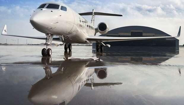 Gulfstream G650ER executive aircraft