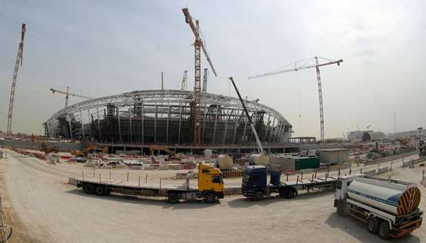 The 40,000 capacity, $575 million (465 million euros) Al-Wakrah Stadium