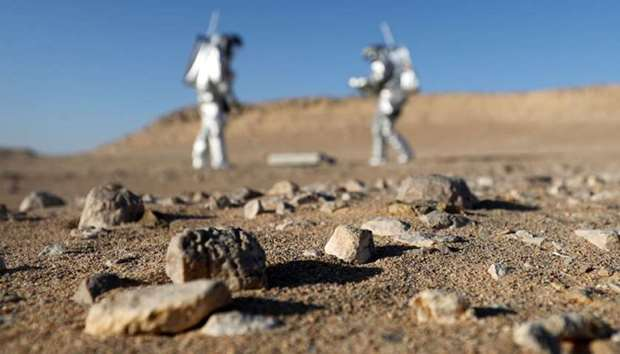 Mars simulation mission in Oman's Dhofar desert