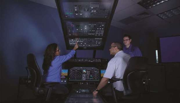 Boeing Global Services provides full service training to pilots worldwide