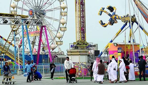 Aside from family-oriented fun, the park also offers a variety of rides for thrill seekers