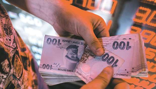 Turkey central bank seeks to rouse credit growth with cut in reserve ratios