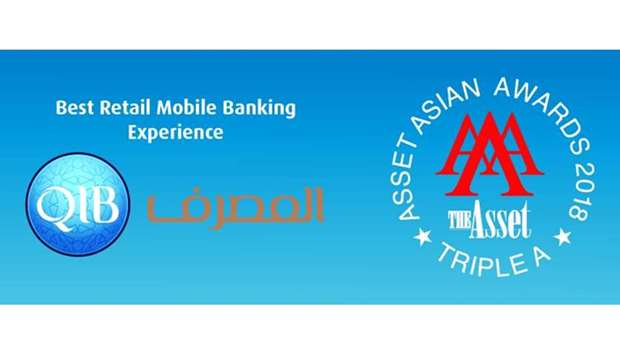 QIB awarded the 'Best Retail Mobile Banking Experience' in Qatar