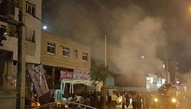 Blast in front of a police station in the city of Zahedan