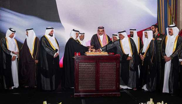 The Kuwait embassy in Doha marked on Monday the 58th National Day and the 28th Anniversary of the Li