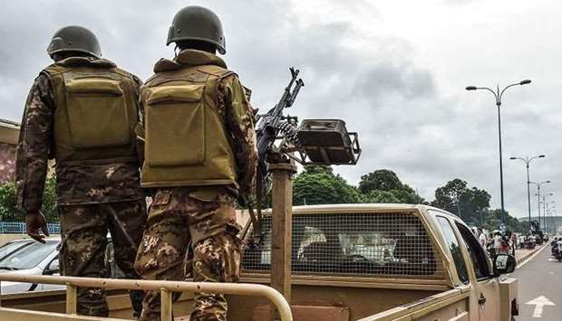 Mali security forces