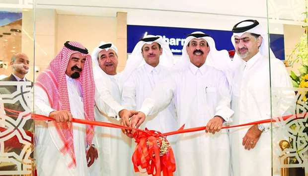 The opening of QIIB's new branch at Ezdan Mall-Al Wakra