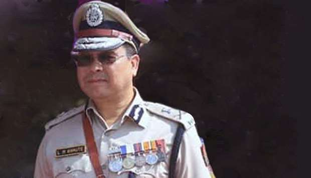 Manipur's director general of police L.M. Khaute