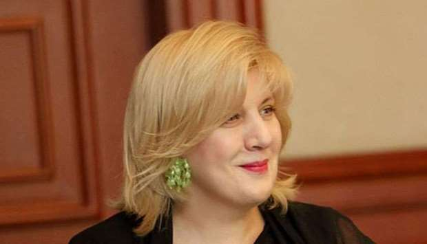 Council of Europe Human Rights Commissioner Dunja Mijatovic