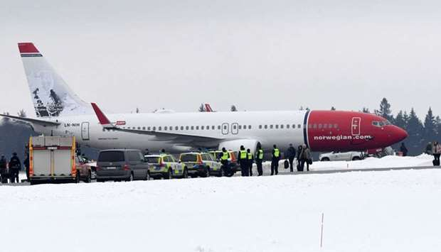 Norwegian Air plane evacuated after receiving threat