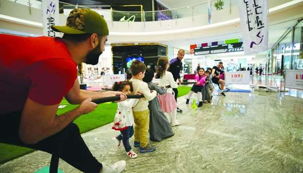 National Sport Day celebrations at Mall of Qatar.