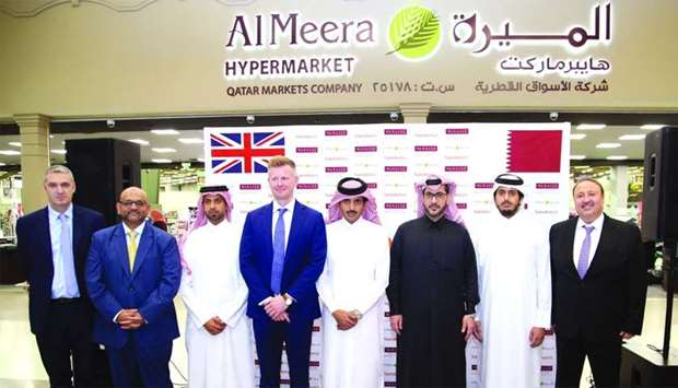 Snapshot from the opening of the Sainsbury's shop-in-shop at Al Meera, Hyatt Plaza Mall. PICTURES: J